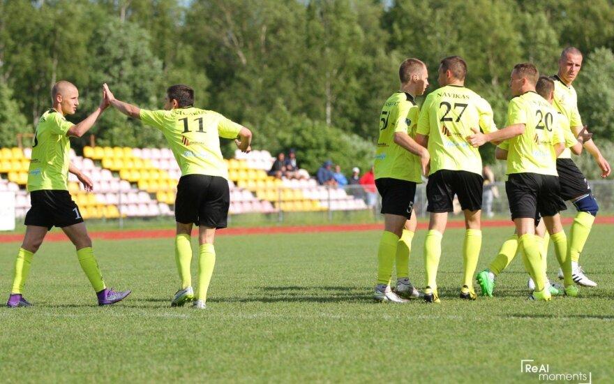 """Palangos"" futbolininkai / Foto: fkpalanga.lt"