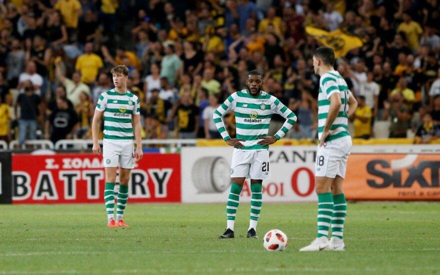 """""""Celtic"""" futbolininkai"""