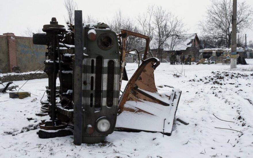 """""""Fitch"""" sumažino Ukrainos kredito reitingą"""