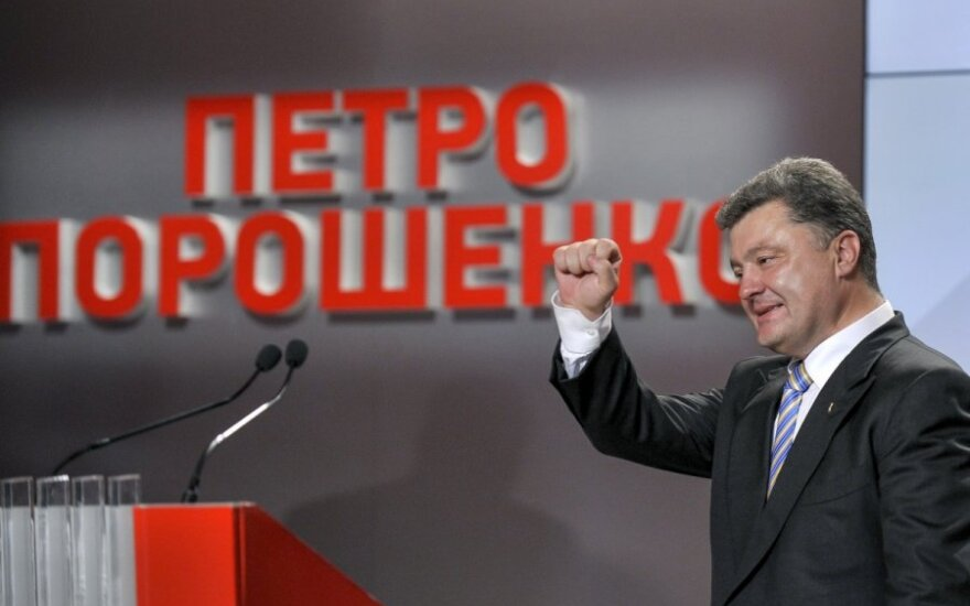 Rinkimai Ukrainoje: po apklausos ryškėja akivaizdus lyderis