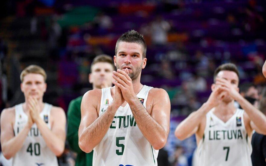 Naujame FIBA reitinge – Lietuvos rinktinės smuktelėjimas