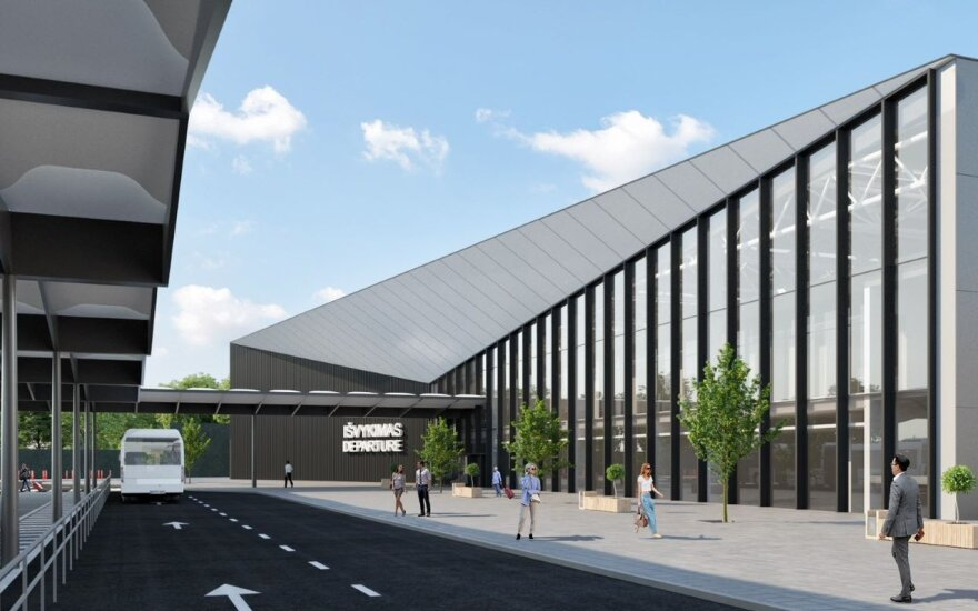 Vilnius Airport will choose who will build new departures terminal