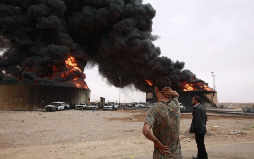 Libijos gynybos ministru paskirtas vietos kovotojų vadas