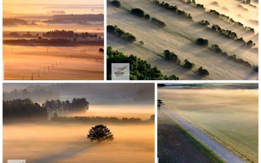 Rūke paskendusi Lietuva: nuotraukų galerija
