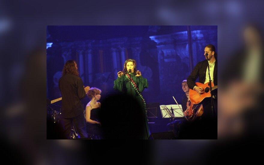 """""""Skylė"""" koncerte džiugino naujais kūriniais"""