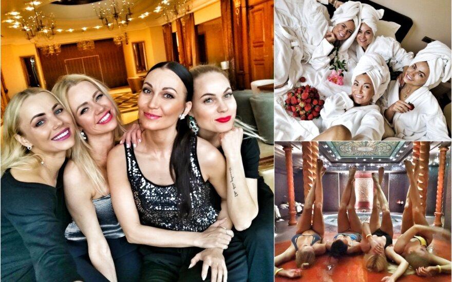 "Karina Krysko gimtadienį sutiko ""69 danguje"" kompanijoje"