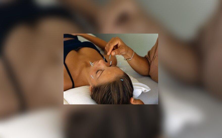 Akupunktūros poveikis nėra vien psichologinis