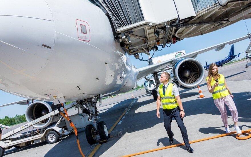Diena su lėktuvo pilotu