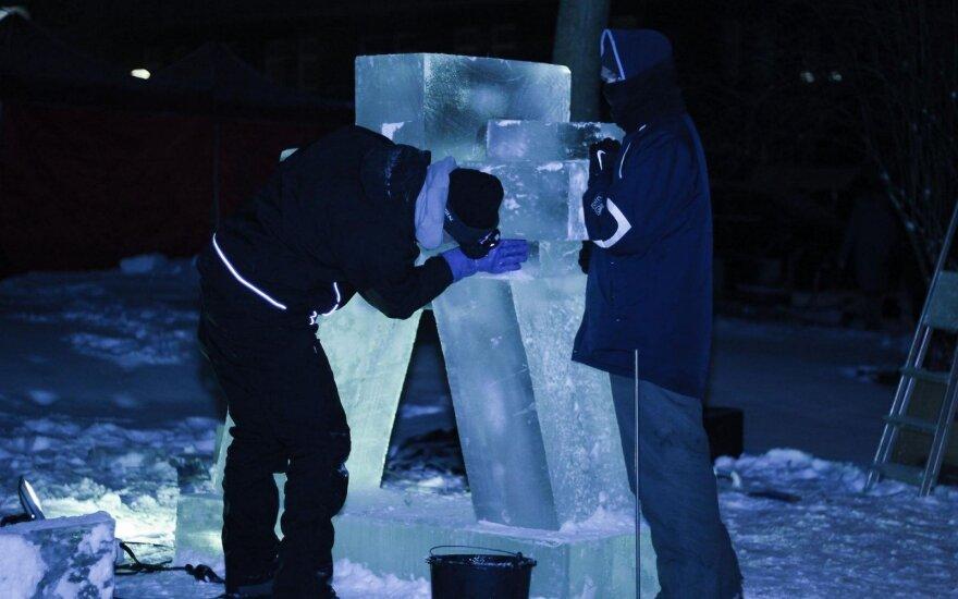 Ledo skulptūrų festivalis – M. K. Čiurlionio paveikslų tema