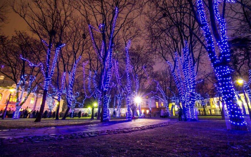 Kaunas įspūdingą šou žada ne tik prie pagrindinės eglės