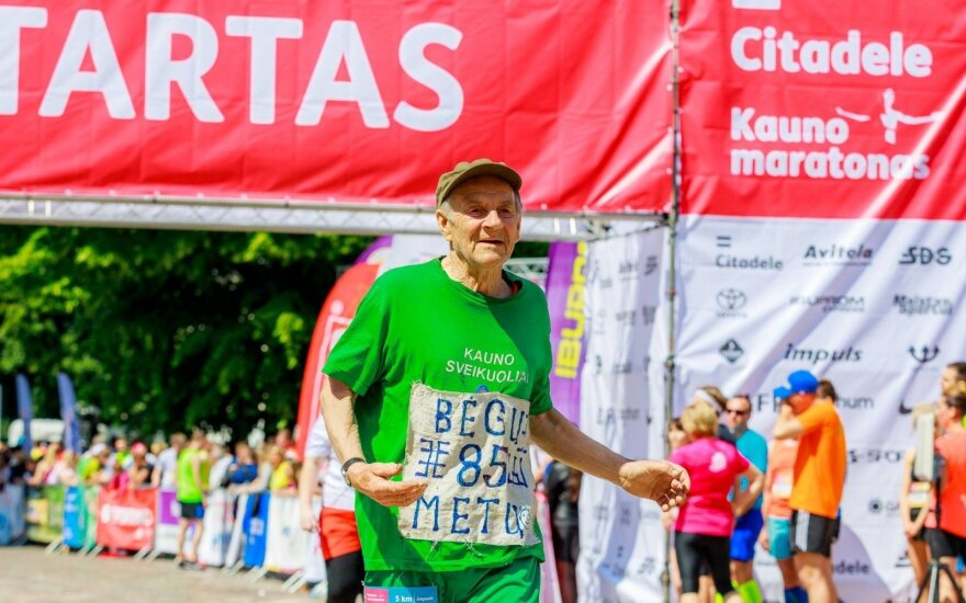 """Matas Ankudavičius / Foto: """"Citadele Kauno maratonas"""""""