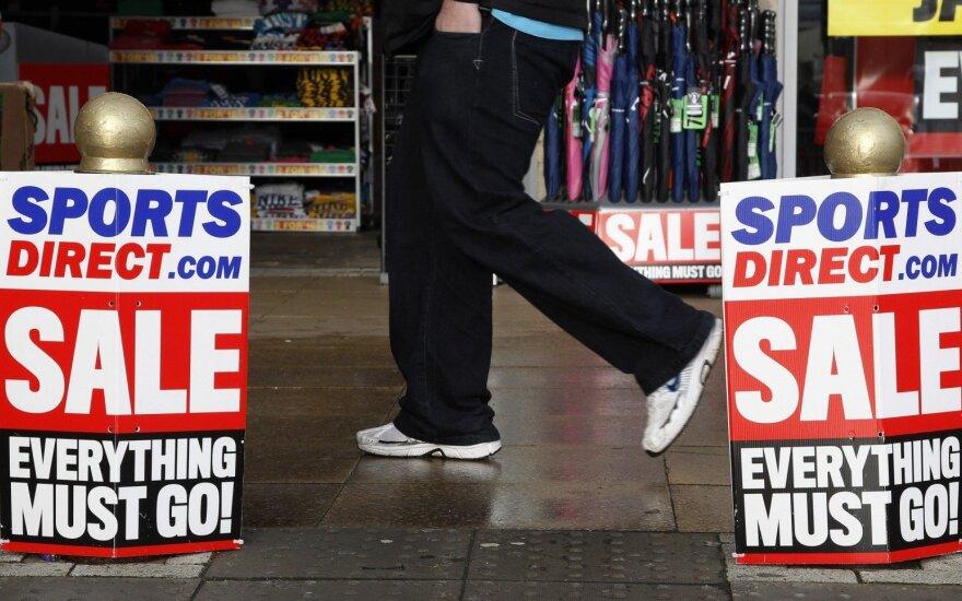 """""""Sports Direct"""" atidarys parduotuvę Šiauliuose"""