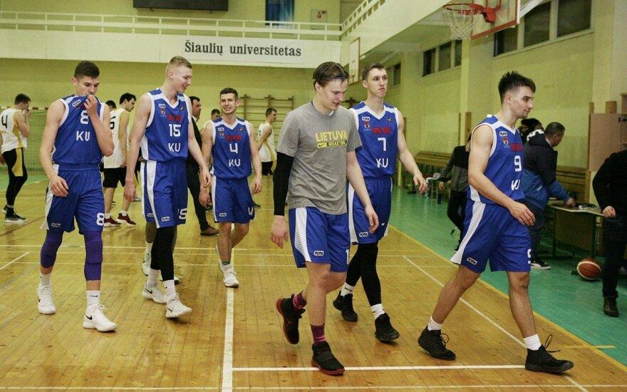 ŠU - KU rungtynių akimirkos (Zenono Ripinskio nuotr.)