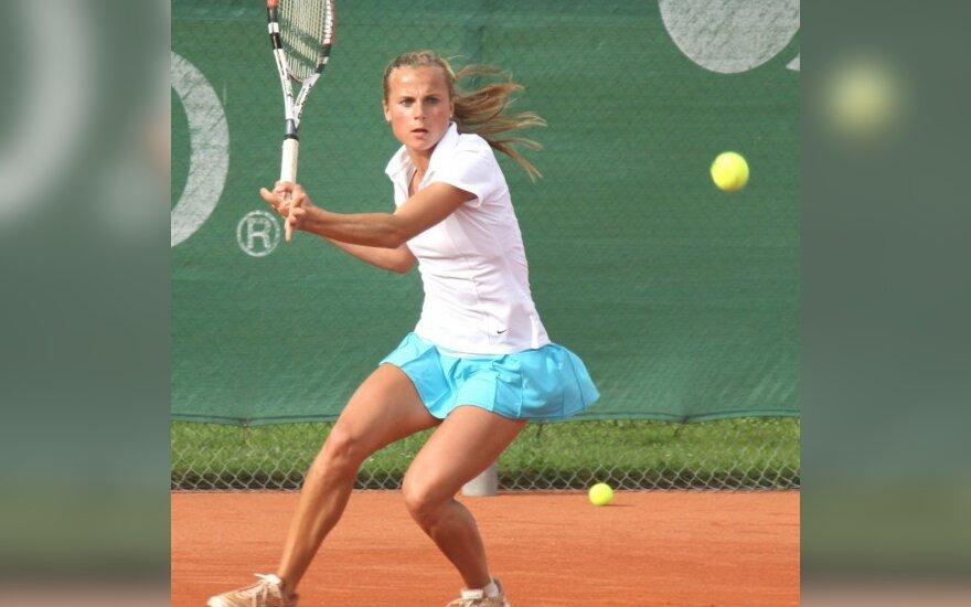 L.Stančiūtė - teniso turnyro Suomijoje ketvirtfinalyje