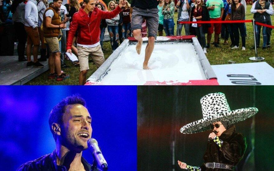 """Festivalio """"Granatos Live"""" akimirkos: koncertai, pramogos ir šokiai lietuje"""