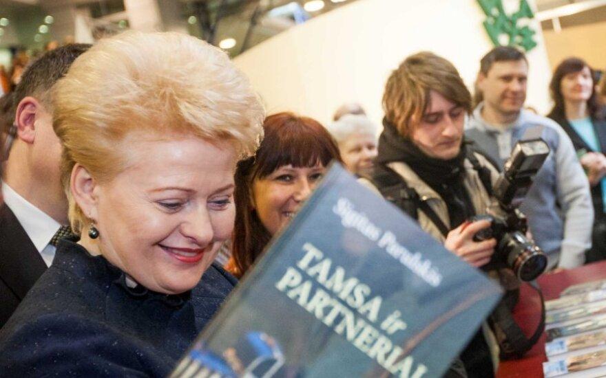 D.Grybauskaitė atskleidė, ką mano apie homoseksualų partnerystę