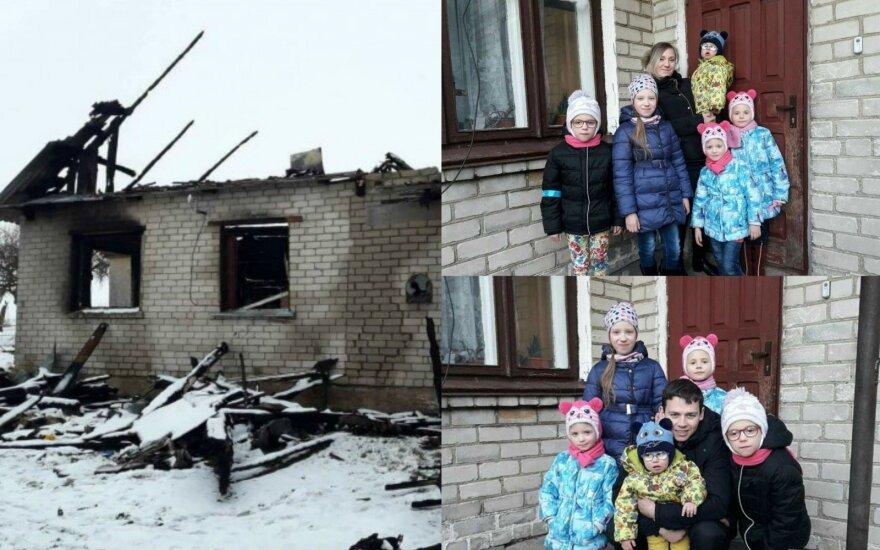 Laiminga pabaiga: Bogdanovičių šeima dėkoja visiems padėjusiems žmonėms