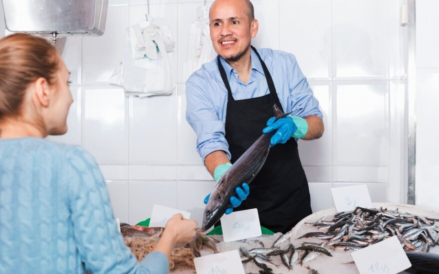 Žuvų pardavėjas