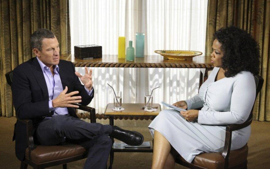 Lance'as Armstrongas ir Oprah Winfrey