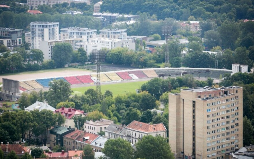 """Idėjas verslo centrui """"Žalgirio"""" stadione architektai nagrinės kūrybinėse dirbtuvėse"""