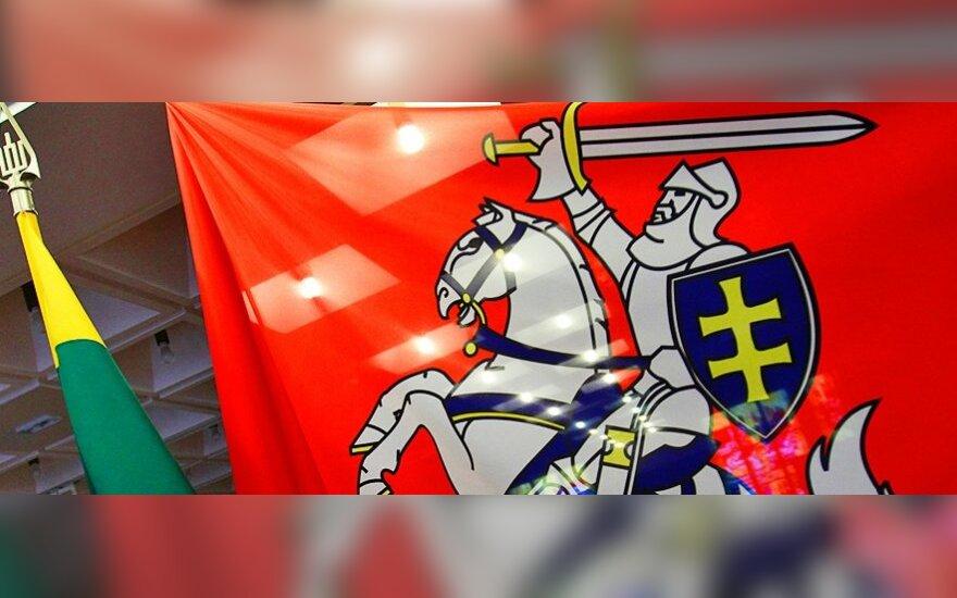 Heraldikos komisija nepritaria Vyčio vėliavos kėlimui virš valstybės institucijų