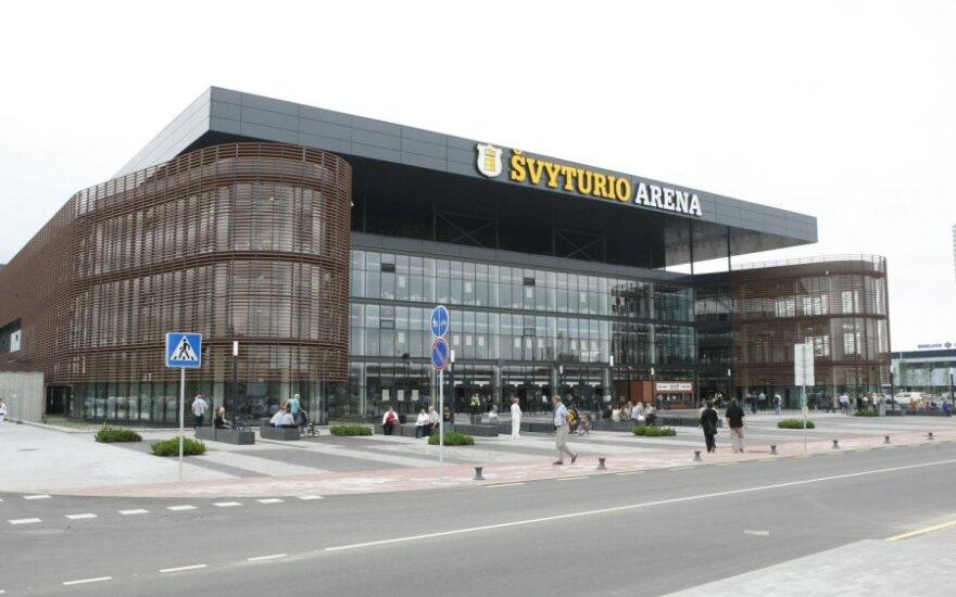 Klaipėdos arenai – krepšinio krikštas
