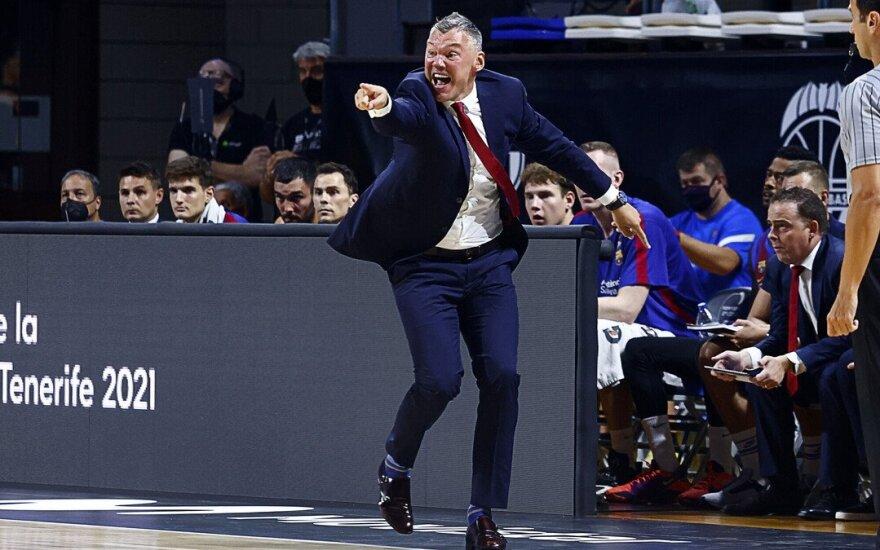 Šarūnas Jasikevičius / FOTO: Barca Basket Twitter