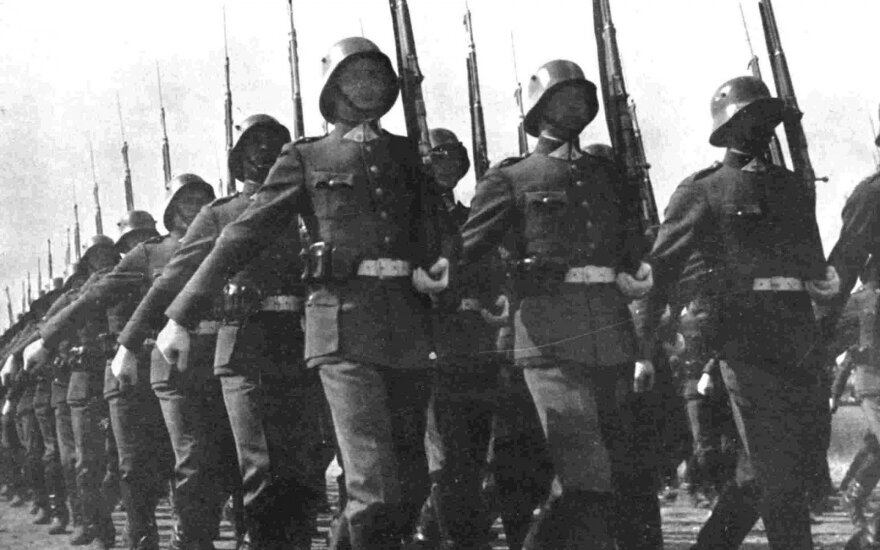 Lietuvos kariuomenė 1938m.