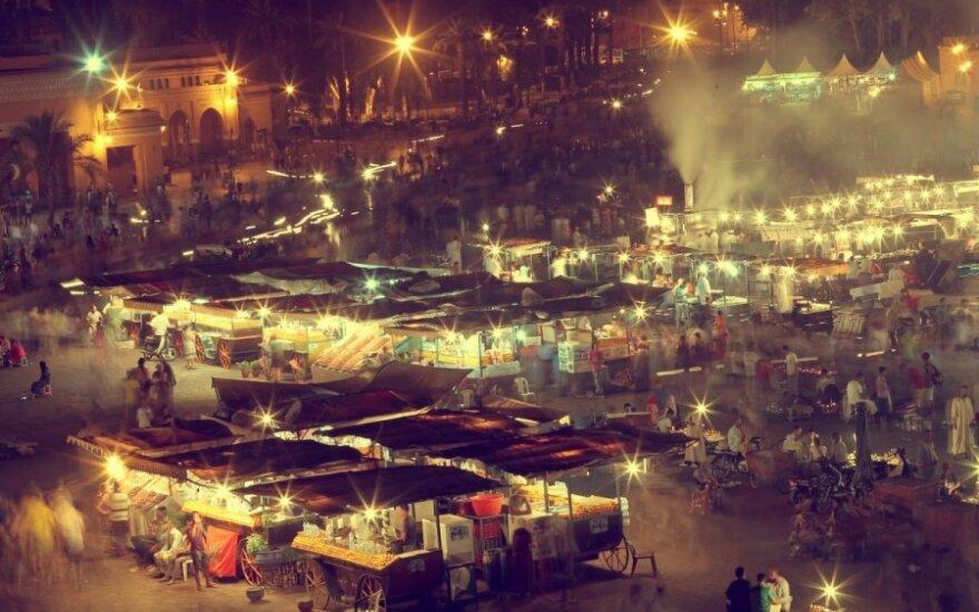 Djemaa el-Fna aikštė, Marakešas