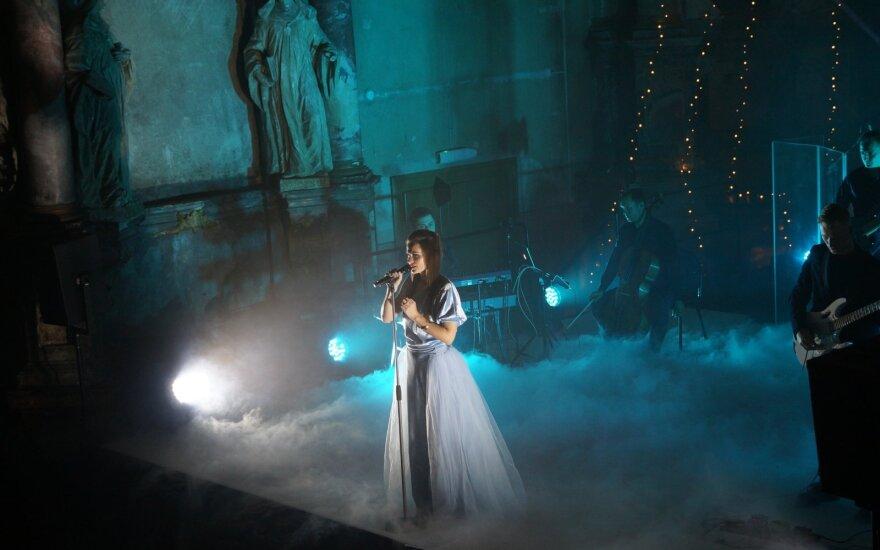 """Akimirka iš """"Jurga 2020"""" koncerto / Foto: Miglės Meškauskaitės"""