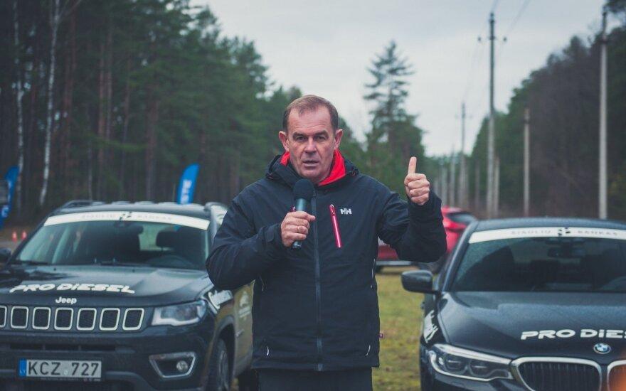 Valdas Valiukevičius skelbia startą