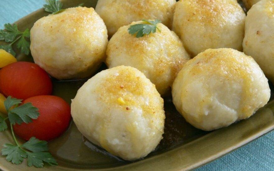SIURPRIZAS: bulvių kukuliai su originaliu įdaru