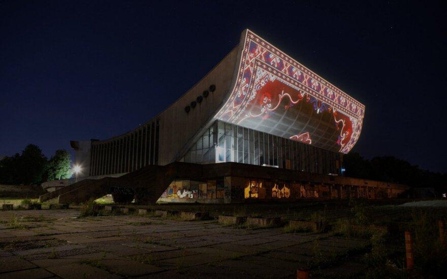 """""""Kultūros naktį"""" buvusius koncertų ir sporto rūmus nušvies įspūdinga projekcija"""