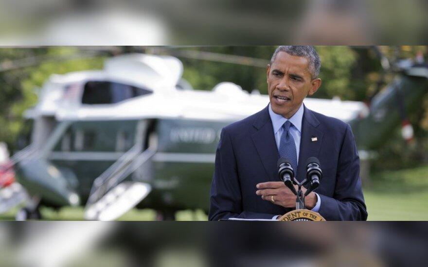 JAV Atstovų Rūmai nubalsavo už ieškinį teismui dėl B. Obamos prezidento įgaliojimų viršijimo