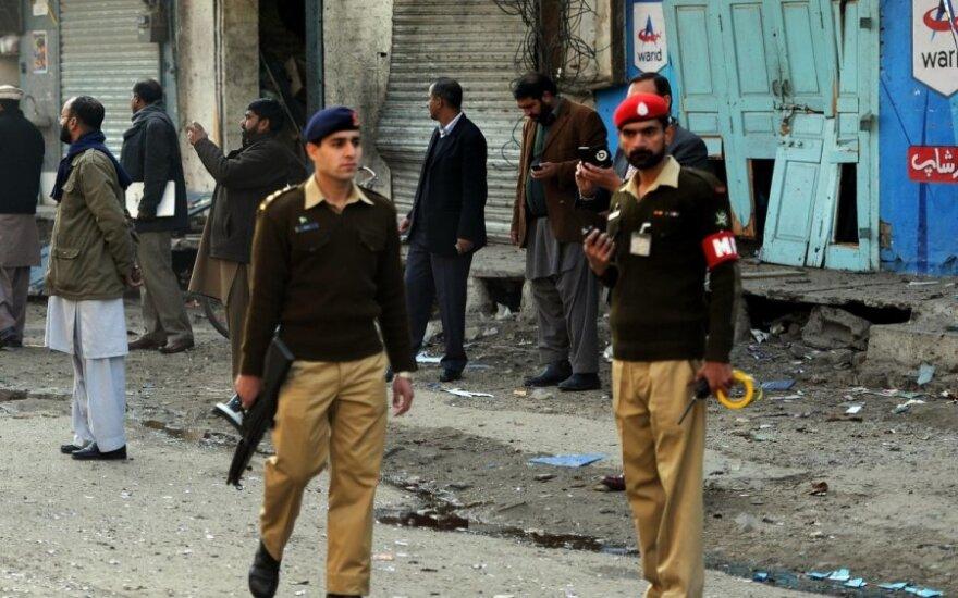 Sprogimas Pakistante