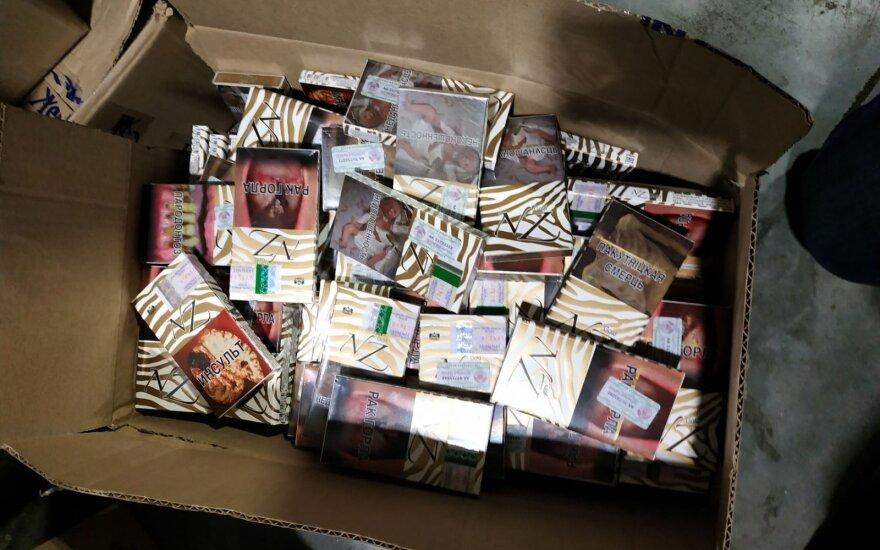 Ar tiesa, kad kylant cigarečių kainai rūkalų kontrabandos mažėjo?