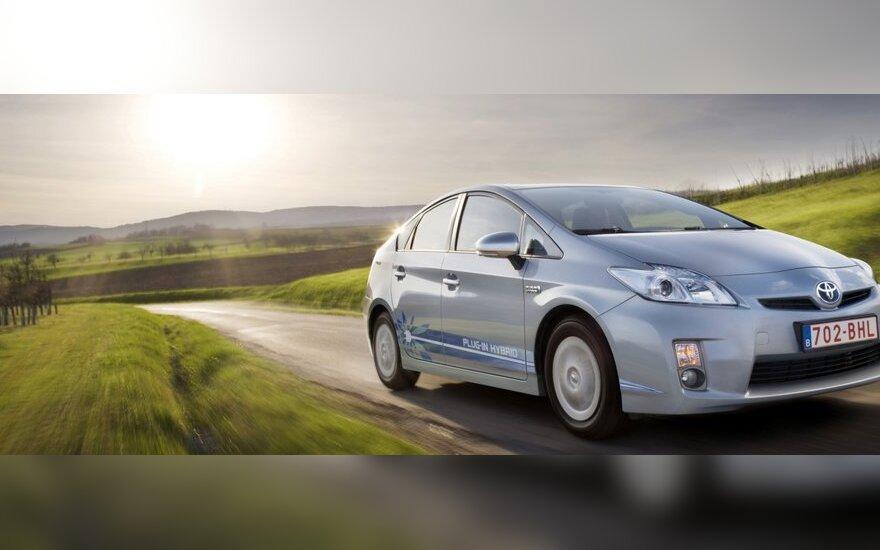 Pajūris lauks ekologiškų automobilių