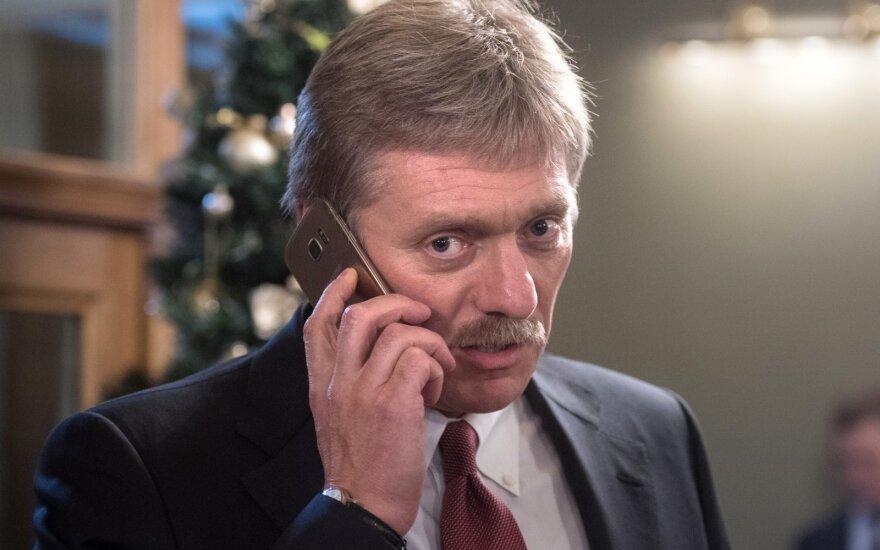 D. Peskovas: Maskva brangina santykius su Minsku