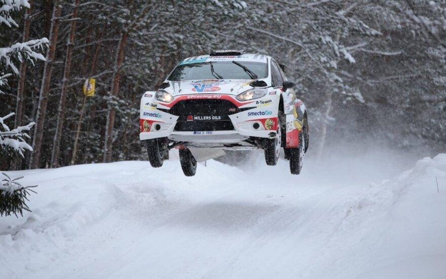 """""""Winter Rally 2019"""": antroji diena. Vytauto Pilkausko, Giedriaus Matulaičio, Jurgos Anusauskienės nuotr."""