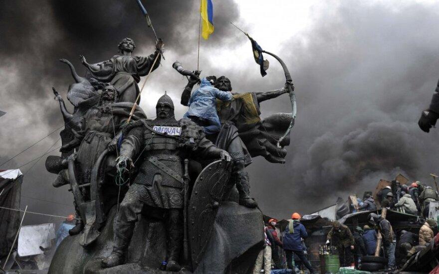 Krymo parlamento pirmininkas prakalbo apie atsiskyrimą nuo Ukrainos