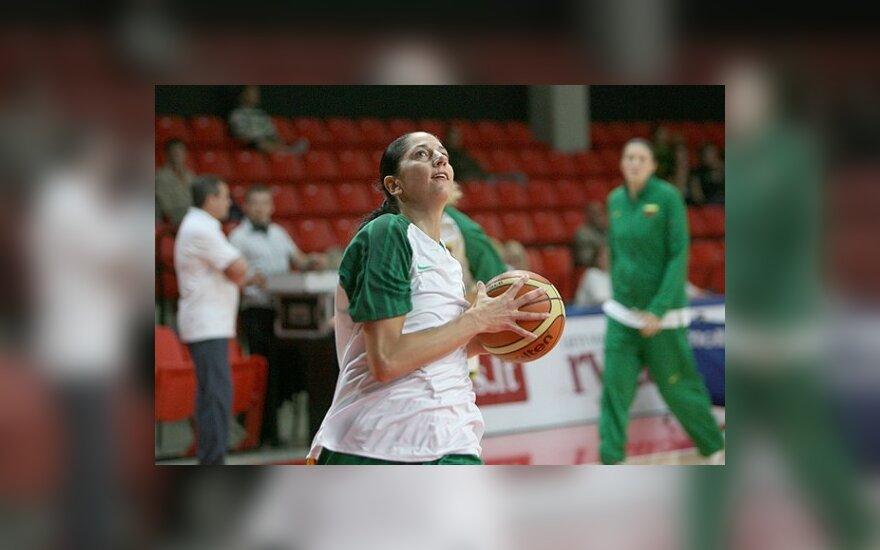 A.Čiūdarienės ekipa laimėjo pirmąsias Europos taurės turnyro šešioliktfinalio rungtynes