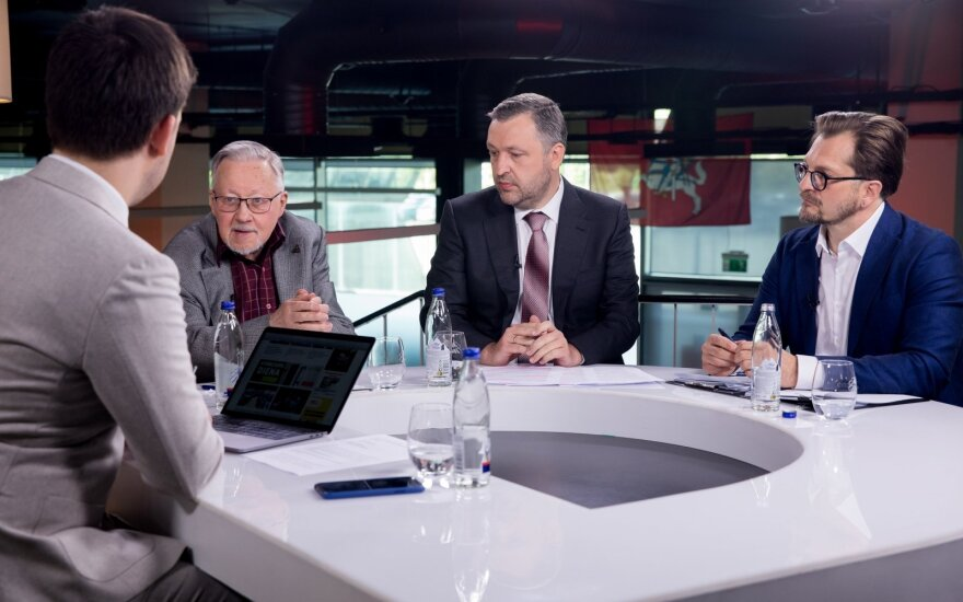 Vytautas Landsbergis, Antanas Guoga, Linas Kontrimas