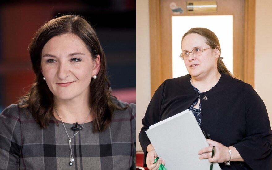 Austėja Landsbergienė, Agnė Širinskienė