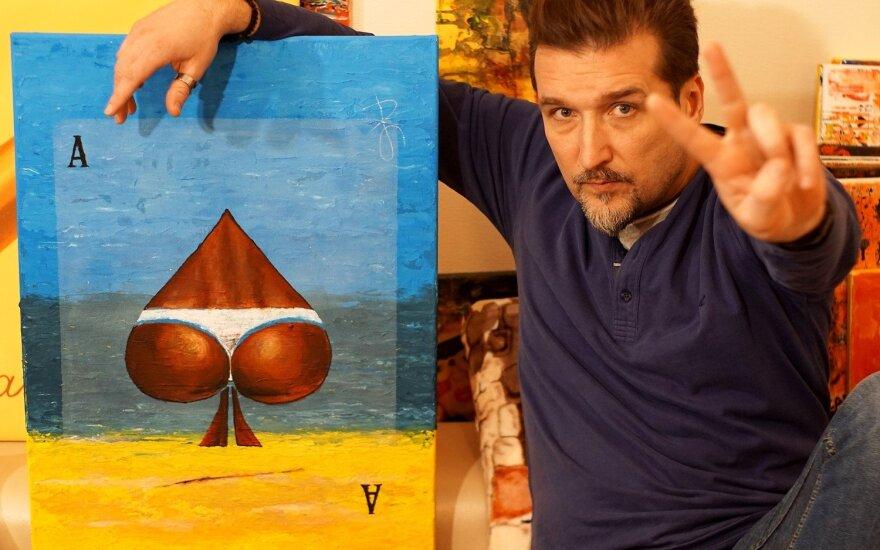 Arvydas Gaičiūnas ir jo tapyba
