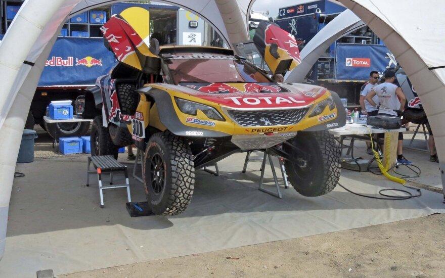 Pirmasis Dakaro ralio bivuakas