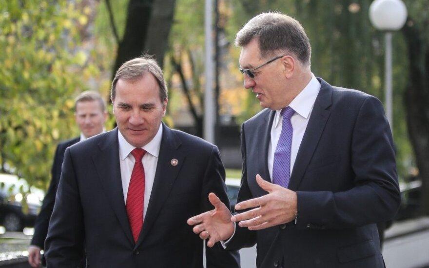 Švedijos premjeras: stebime Rusiją ir matome, kas vyksta