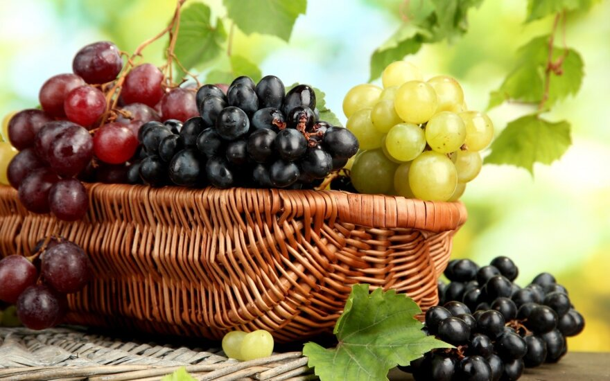 Žalios ar tamsios vynuogės: kurios vertingesnės?