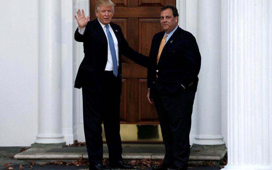 Donaldas Trumpas, Chrisas Christie