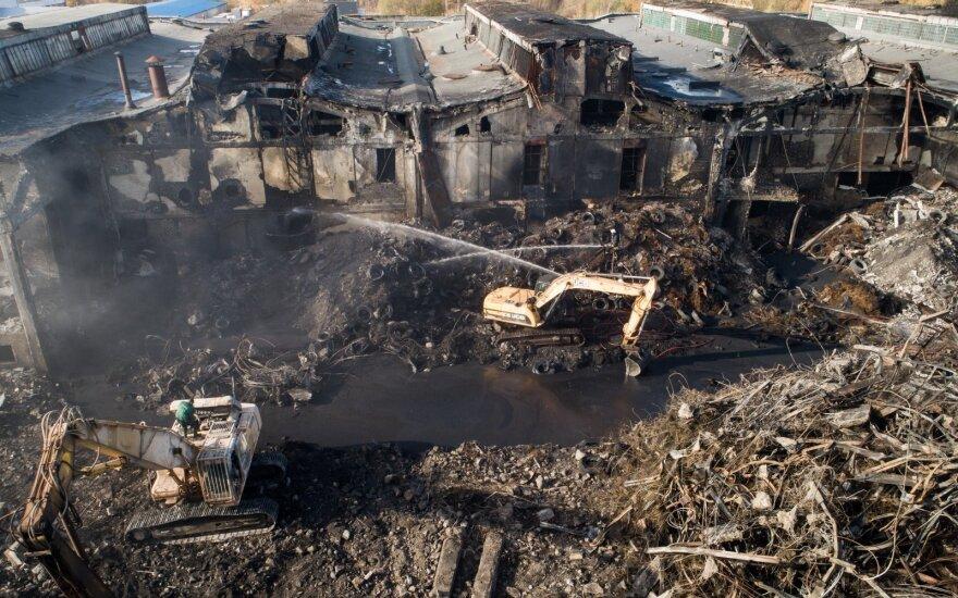 Padangų įmonė Alytuje nebuvo įtraukta į pavojingų objektų sąrašą