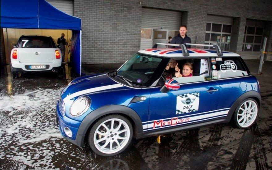 """Orientacinės """"Mini"""" automobilių varžybos"""